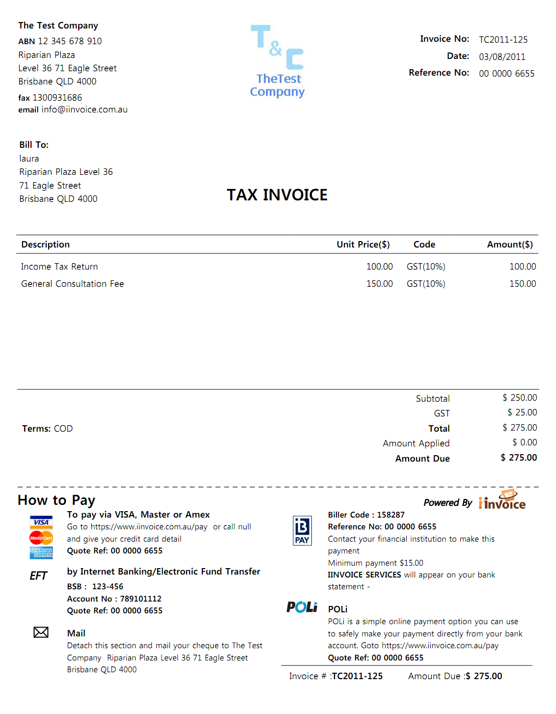Invoice Sample Word Document Pdf Iinvoicethe Smart Way Of Invoicing And Payment Invoice Form Free Pdf with Invoice What Is Pdf  Work Receipt Template Excel